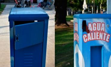El Municipio repudia la destrucción del termo de 'Plaza Mitre'