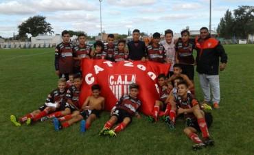 Los Andes, el equipo visitante, fue el campeón del Mundialito del Club Independiente