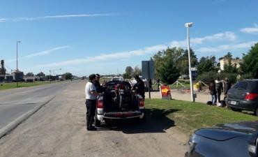 Cuatro motos secuestradas por el Comando de Prevención Rural