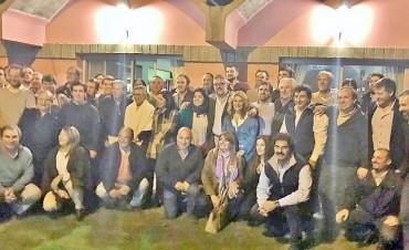 Los Ministros Bonaerenses de Justicia, Trabajo y Agroindustria visitaron Alvear junto al Intendente Cellillo; Sandra Santos los acompañó