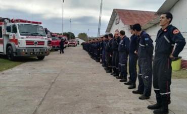 Durante este fin de semana Bomberos Voluntarios de la Región 6 se capacitaron en la ciudad
