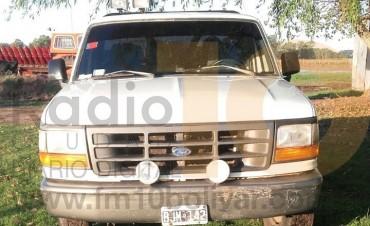 Hallaron la camioneta robada en Barrio Casariego
