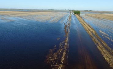 El intendente de Villegas recomendó realizar obras en Pehuajó por el agua que le llega a esa zona