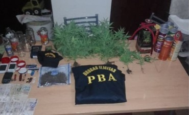 CASBAS: Exitoso operativo de drogas, tras una investigación