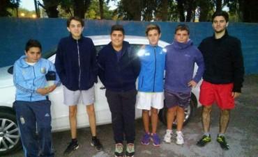 TENIS: Bolívar participó de un torneo en Olavarría y consiguió tres campeones