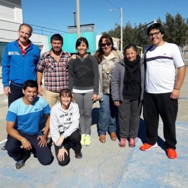 Este jueves se realizó el tercer encuentro de Jardines de Infantes sobre el área de Educación Física