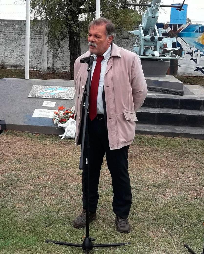 Acto de Malvinas: El Mensaje de Julio Ruíz