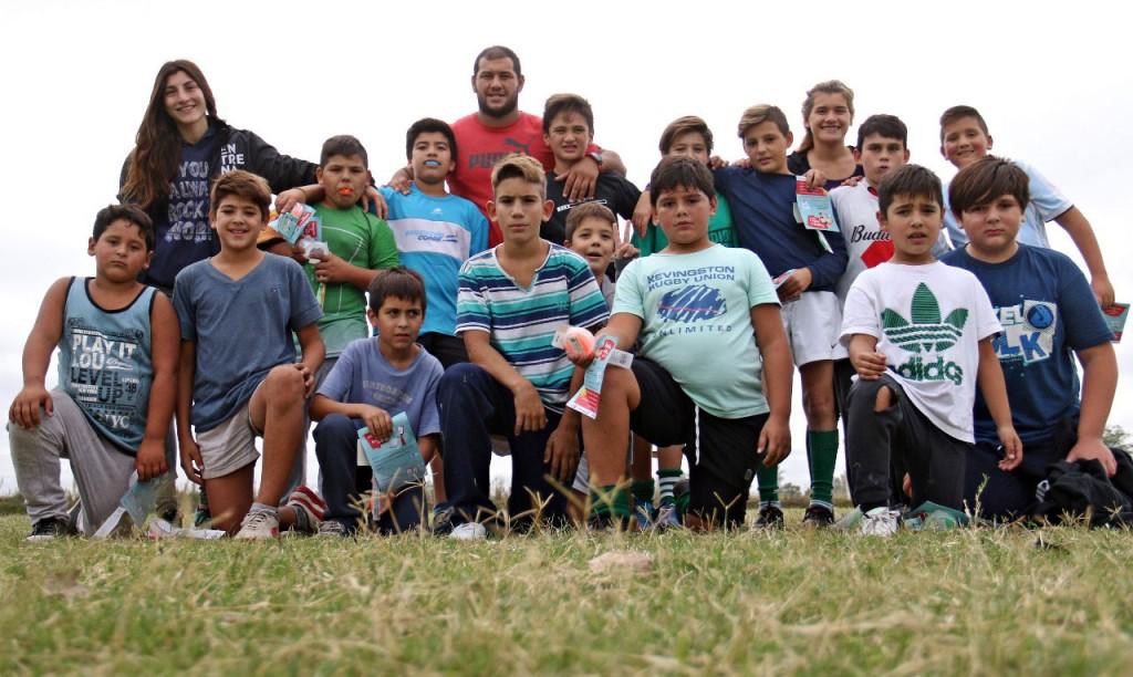El municipio entregó protectores bucales a Indios Rugby Club