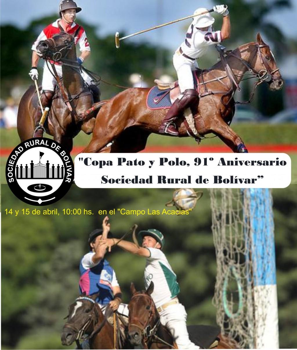 Jornada de Pato y Polo en el Campo Las Acacias de la Sociedad Rural de Bolívar