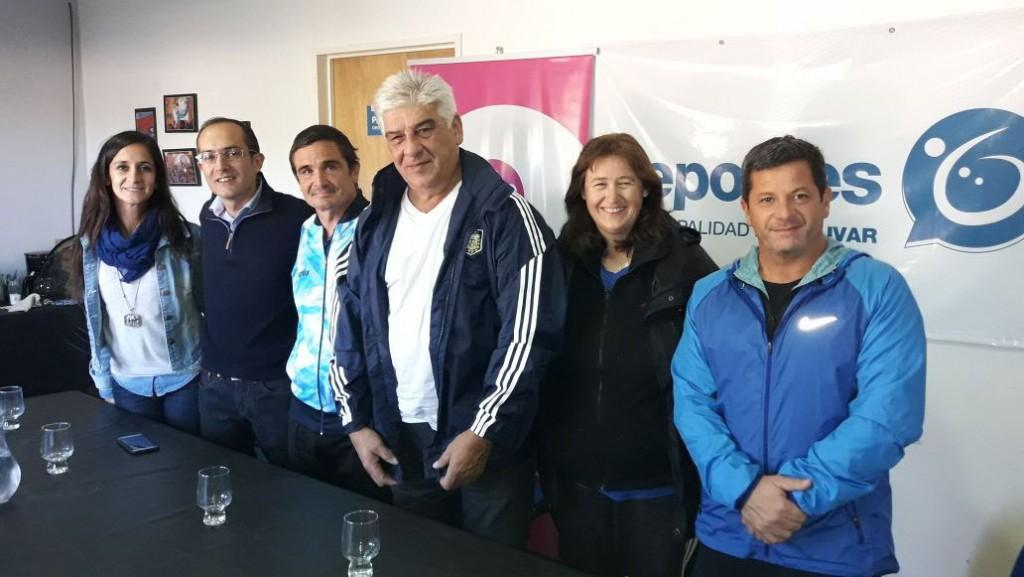 Presentación de las actividades del Atletismo PC en Bolívar