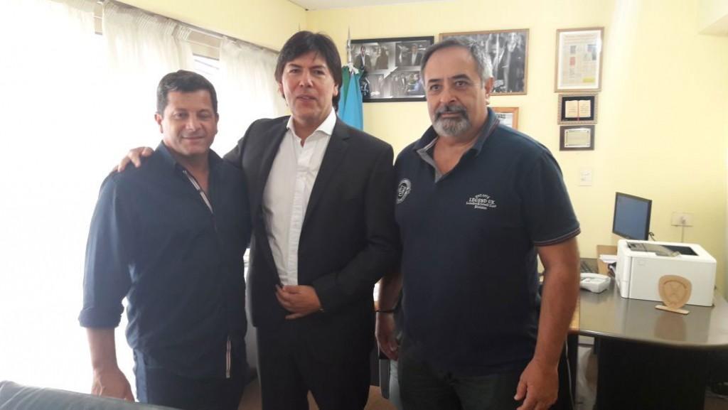 El director de deportes se reunió con autoridades de A.Pre.Vi.De