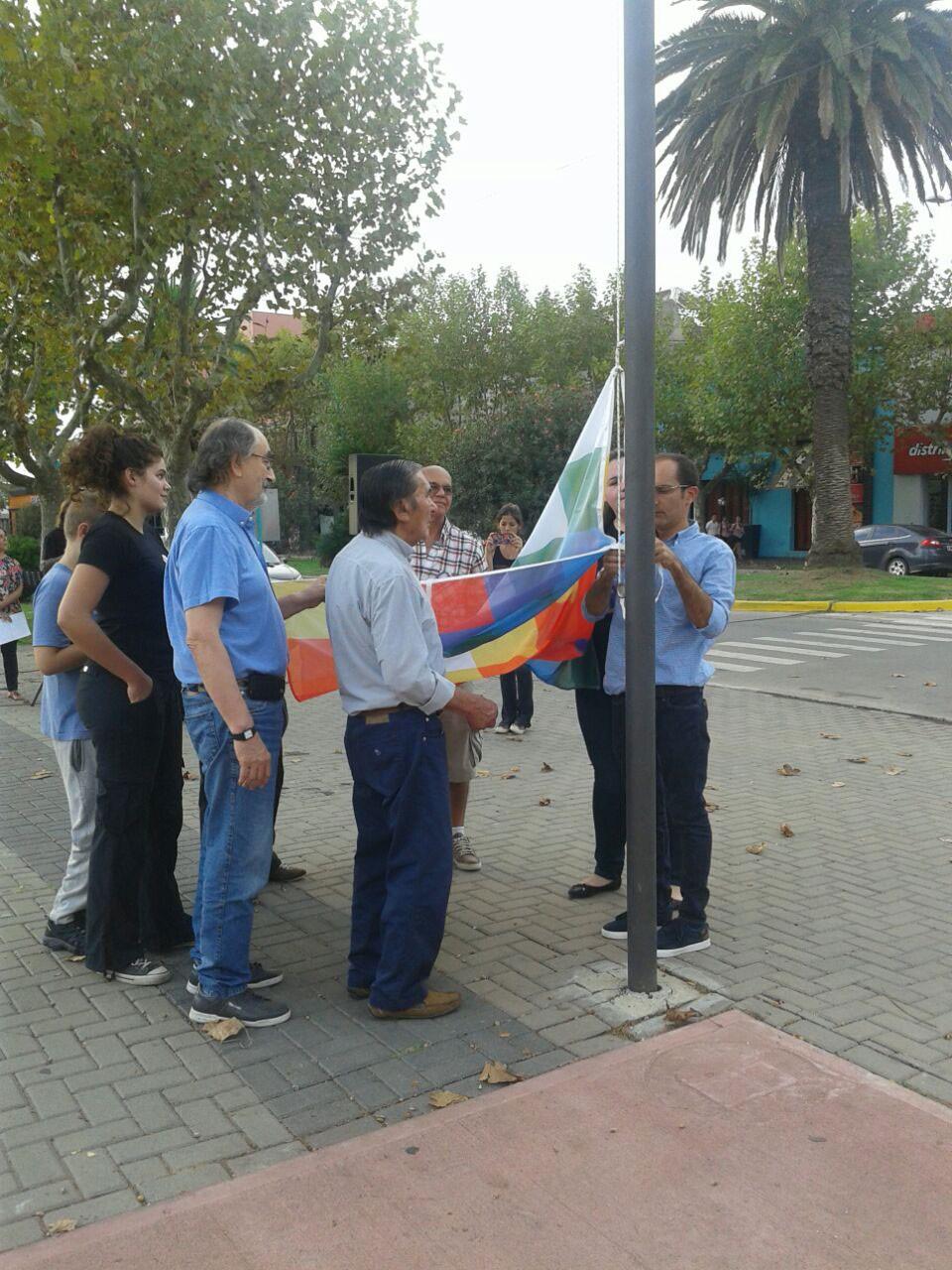 Homenaje a los Pueblos Originarios en el Centro Cívico.