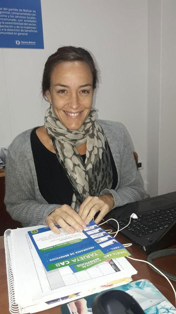 Claudia Mosca dio detalles de la tarjeta CAB de la Cámara Comercial y su programa de Beneficios