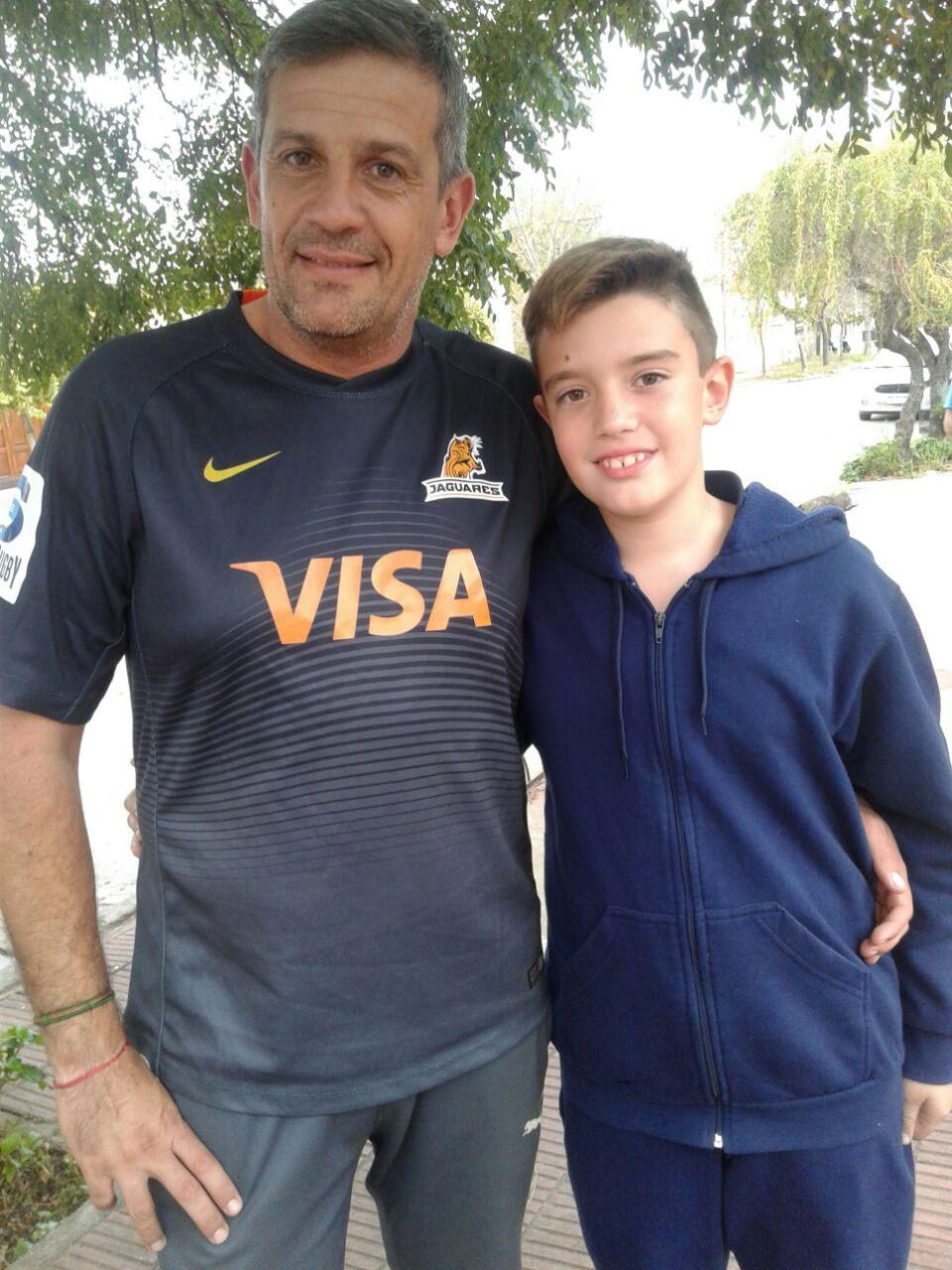 Fútbol: Luciano y Gerónimo Lede; familia de arqueros