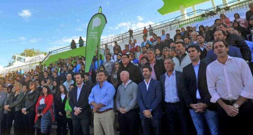 Lanzamiento de los Juegos Bonaerenses 2018