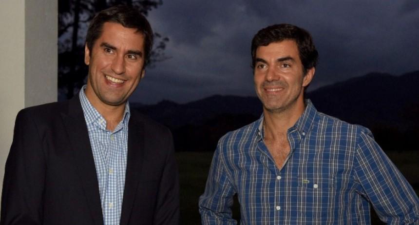 Mosca visitó a Urtubey en el marco de acuerdos legislativos entre Buenos Aires y Salta