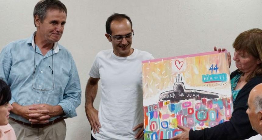 Ara San Juan: La Municipalidad de Bolívar rindió homenaje a los 44 tripulantes