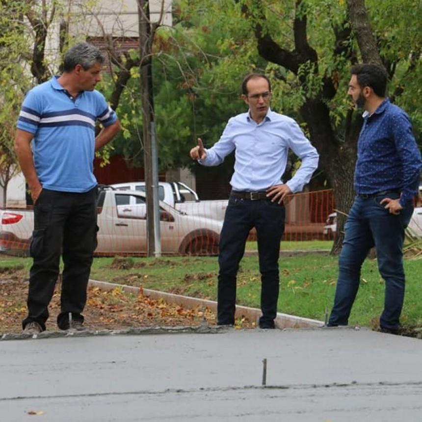 Pisano: 'En esta plaza vamos a disponer de una cancha de Bochas y Tejo'