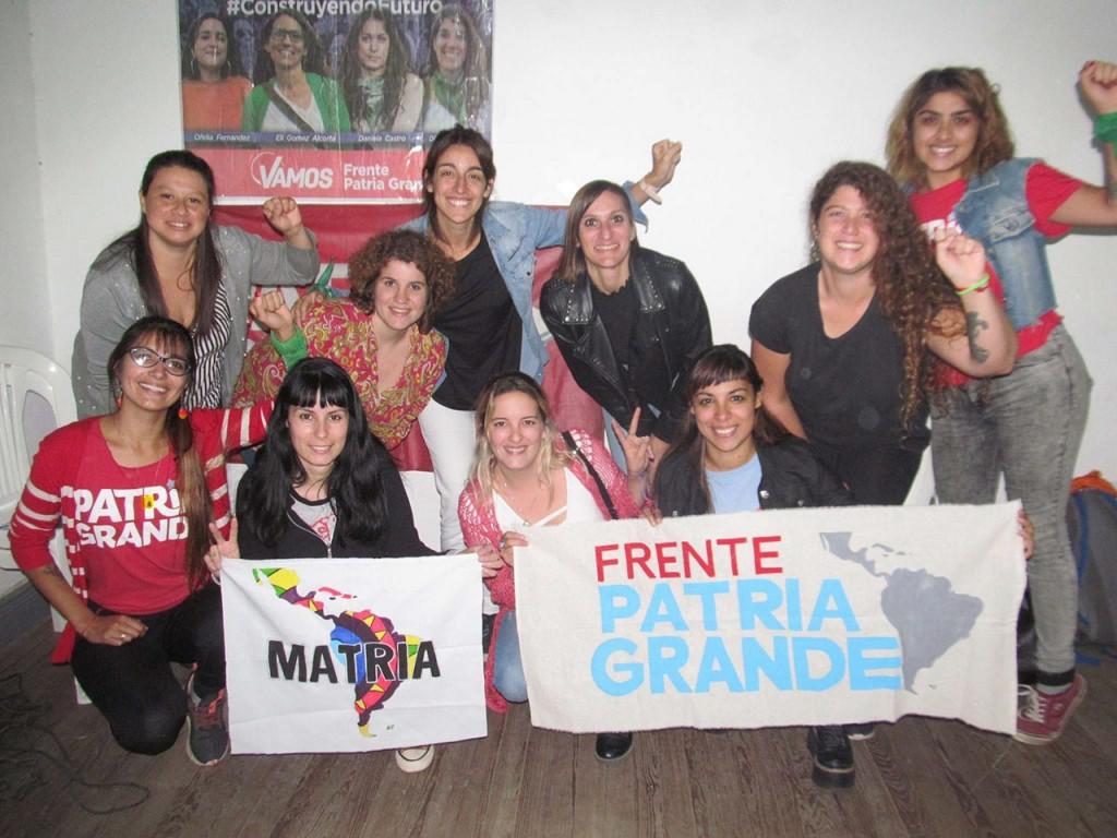 Matria Bolívar participó de encuentros de organización en Azul