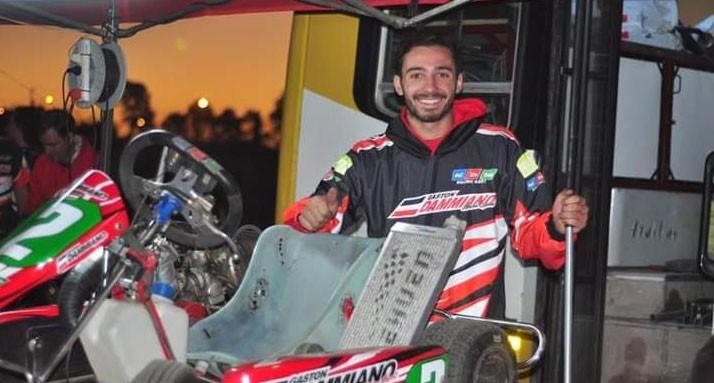 Santiago Fuentes se subió al podio en la 2º fecha del Karting del Centro