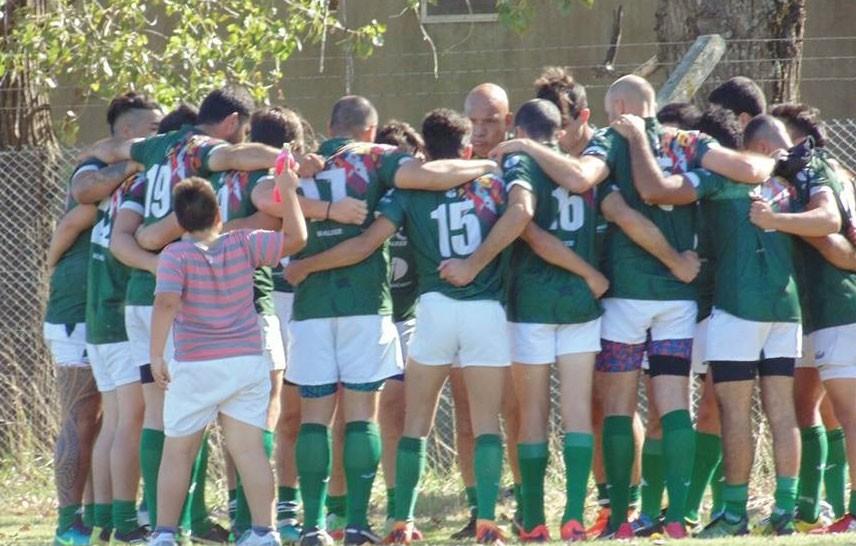 Los Indios Rugby fueron locales ante Huracán de Carlos Casares