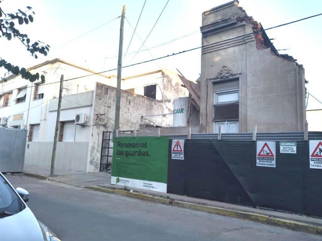 Azul: Hallaron restos óseos en la obra del Hospital de Niños