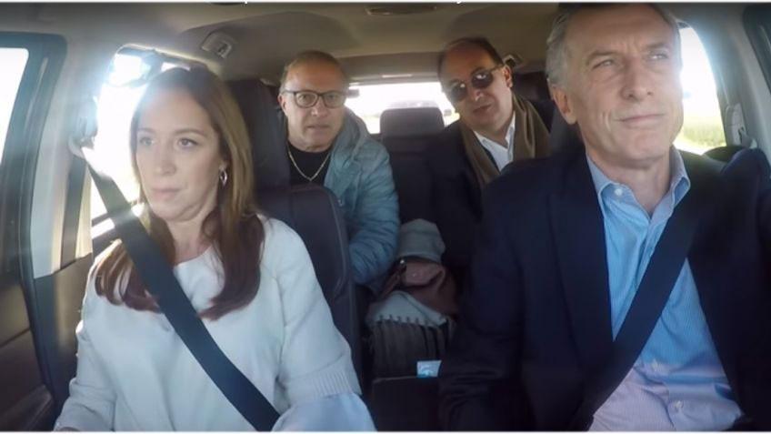 Saladillo: Fugaz visita de Macri y Vidal