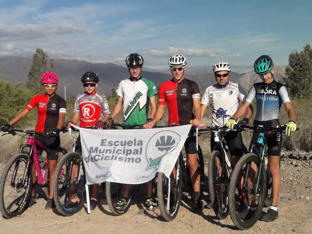 La Escuela Municipal de Ciclismo participó de la segunda fecha del Abierto Across Internacional