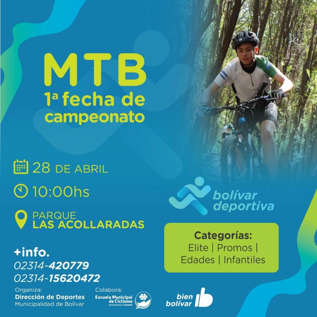 Se viene la primera fecha del campeonato de Mountain Bike