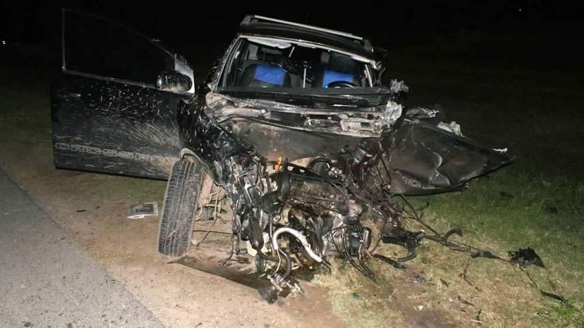 Colisión fatal en Lobos: un muerto y dos heridos