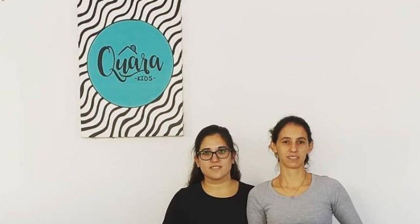 Quara Kids abrió sus puertas para esperar a los mas chiquitos de la familia en Brown y Bóer