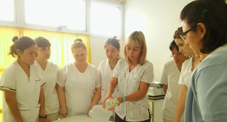 Estudiantes de enfermería comenzaron sus prácticas profesionales