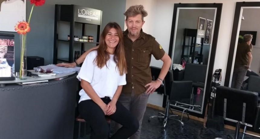 Peluquería Arte Club reabrió sus puertas en el nuevo local de Las Heras y Roca