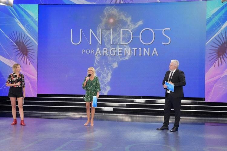 El Inédito maratón de TV Unidos por Argentina reunió casi 88 millones de pesos