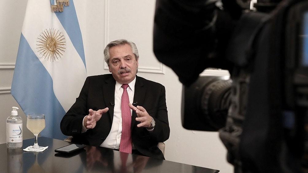 Alberto Fernández: 'El aislamiento va a seguir, lo que podemos hacer es flexibilizarlo'