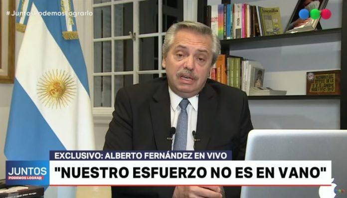 Fernández: 'Tengo la triste noticia de decirles que no sé cuánto tiempo va a durar esto'