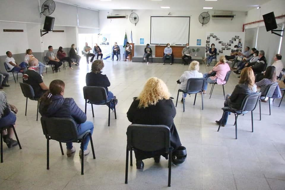 Emergencia Sanitaria: Pisano se reunió con referentes sociales