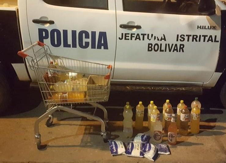 Informe Oficial: Robos, Hurtos y Apercibimientos por incumplimiento dentro de la actividad policial del último martes