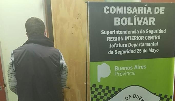 Información Oficial; Detención por Infracción al artículo 205 del Código Penal de la Nación Argentina