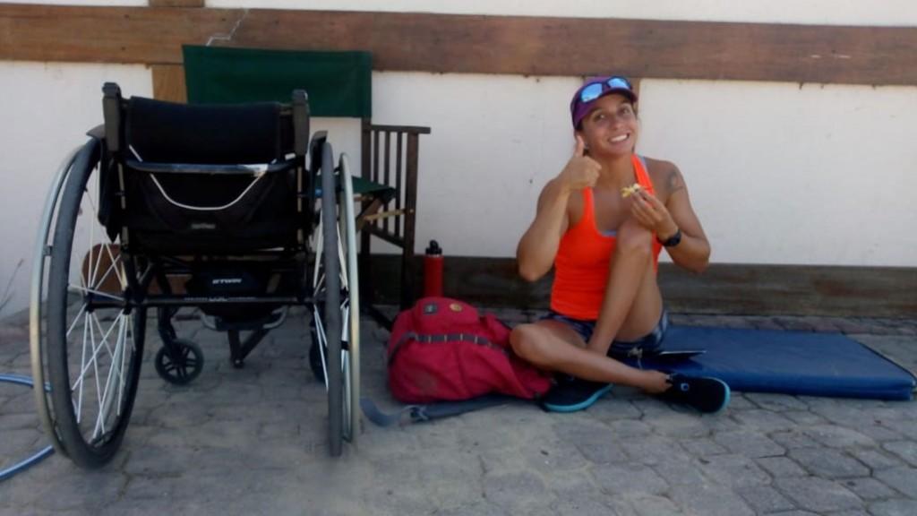 Brenda Sardón; 'Tratamos de verle la parte buena a todo y en este sentido esto me permite seguir preparándome y mejorando'