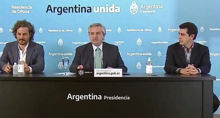 Alberto Fernández: 'Hemos decidido seguir con la cuarentena hasta el 26 abril'
