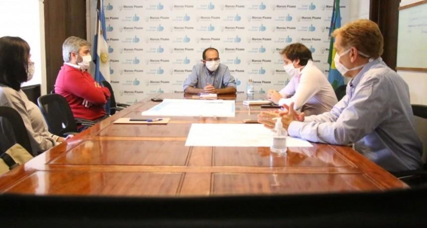 El intendente Marcos Pisano mantuvo una reunión con representante del Honorable Concejo Deliberante