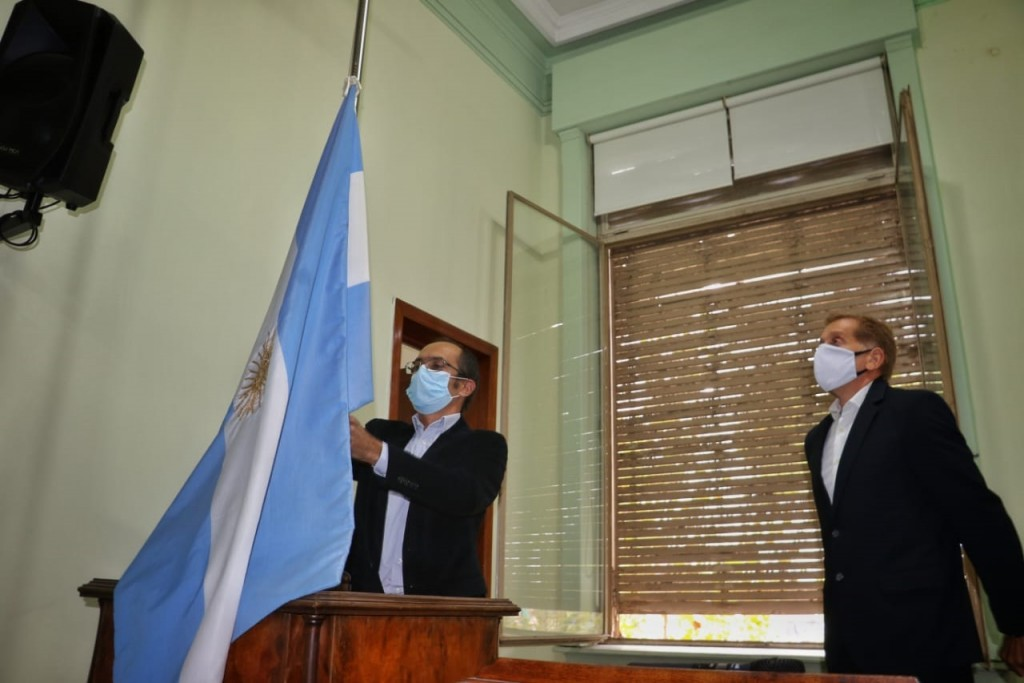 Este miércoles el Intendente Pisano abrió el período de sesiones ordinarias del Honorable Consejo Deliberante