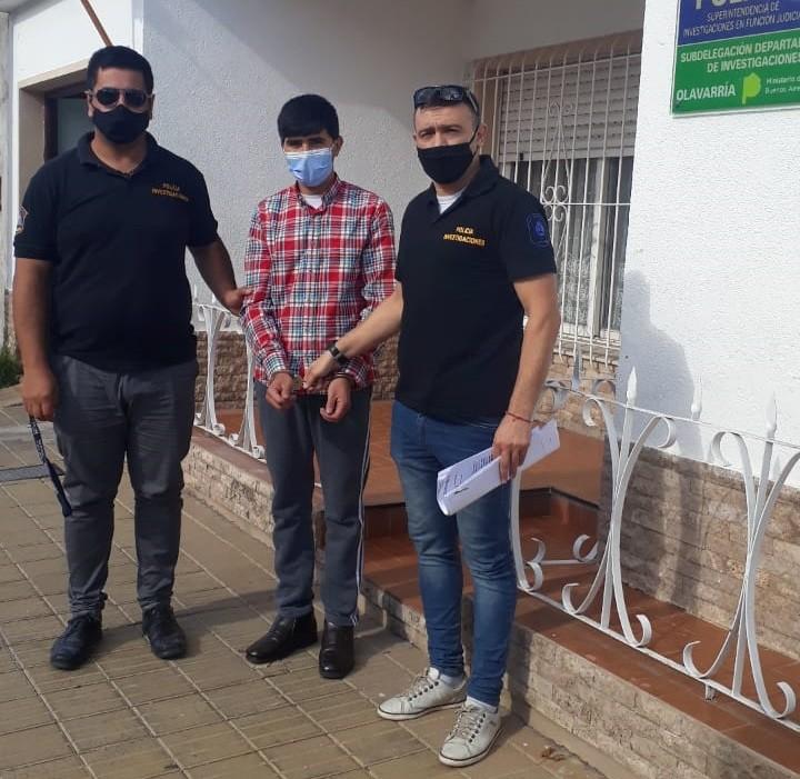 Se logró la detención de un masculino que se encontraba prófugo fuera del país