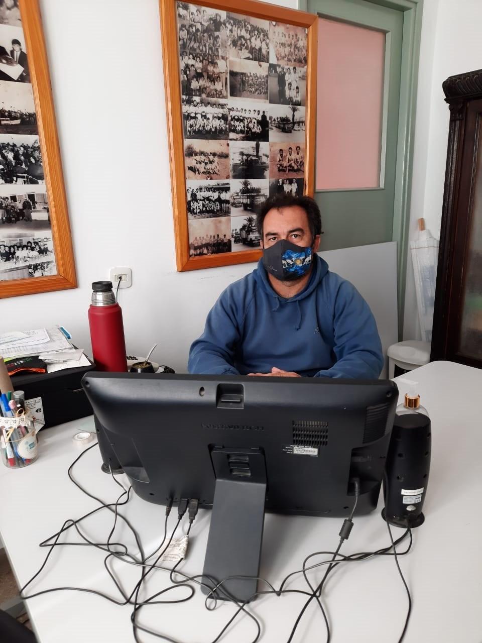 """Hernán Urrutia: """"La situación esta complicada y preocupa cada día más, si bien creemos haber controlado primer foco que se dio"""""""
