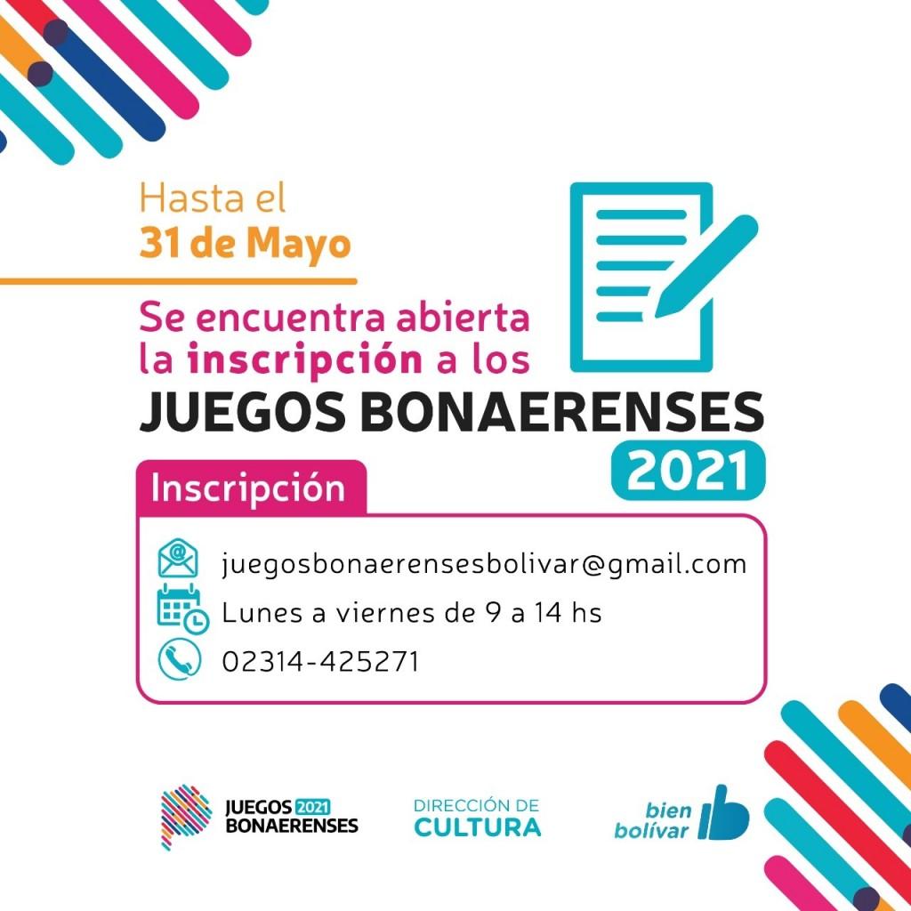 Juegos Bonaerenses 2021: Abrieron la inscripción hasta el 31 de mayo