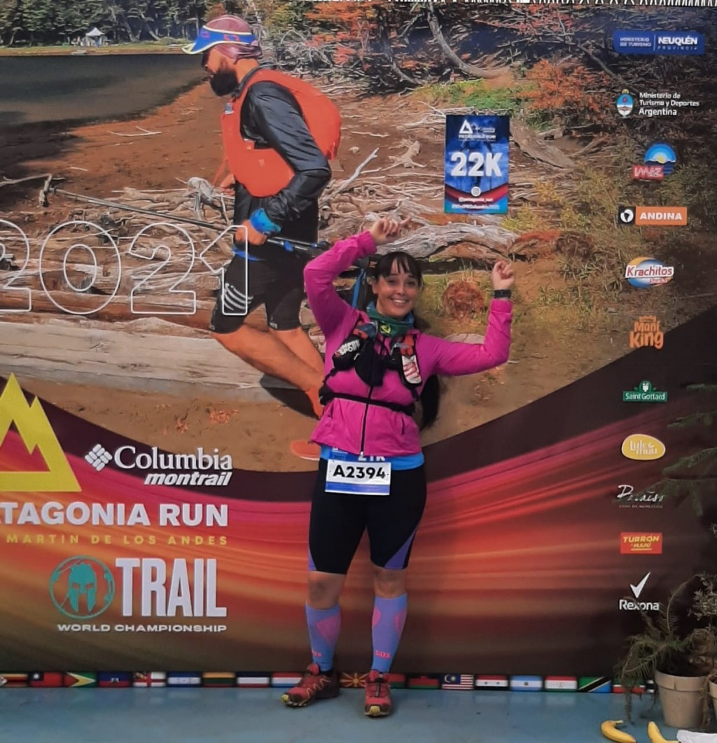 "Patricia Reboira (Running): ""Me he superado a mi misma, pasé de correr una cuadra a 10 km cuando corrí por primera vez la maratón Dino Hugo Tinelli"""