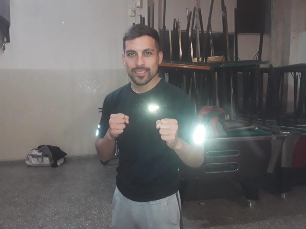 """Pablo 'Mono' Torraco: """"Venimos entrenando a full para lo que se viene el 25 de abril"""""""