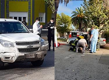 Tres personas hospitalizadas a raíz de un accidente