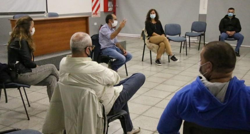 Emergencia Sanitaria: El Intendente Pisano reunió a su gabinete y a referentes de la cámara comercial